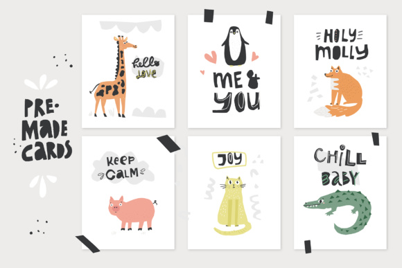 Talking Animals SVG Bundle Graphic Illustrations By Favete Art - Image 6