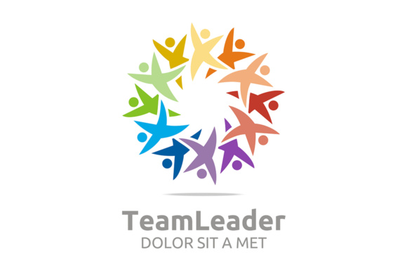 Team Leader Logo Graphic Logos By Acongraphic
