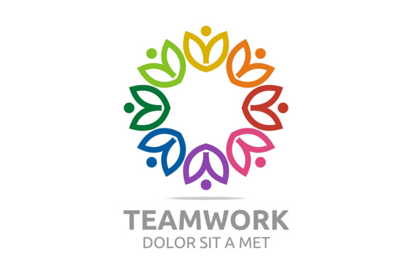 Teamwork Logo Graphic By Acongraphic