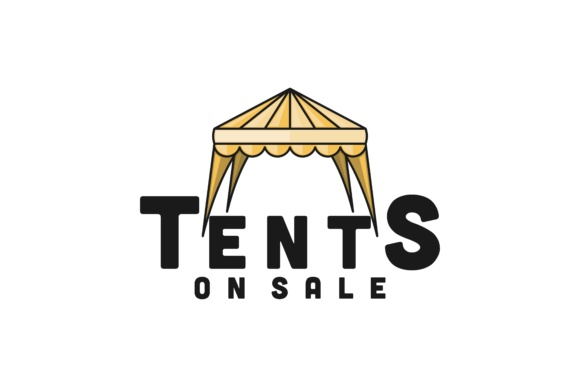Download Free Tent Sale Promotion Logo Graphic By Yahyaanasatokillah for Cricut Explore, Silhouette and other cutting machines.