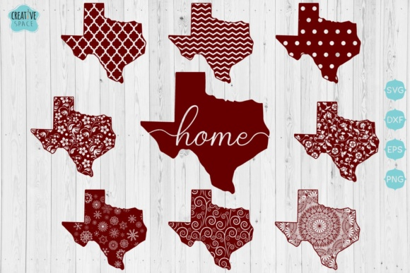 Texas State   Graphic Crafts By creativespace