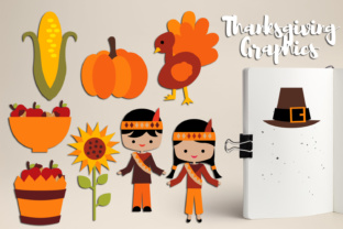 Thanksgiving Harvest Time Graphic By Revidevi