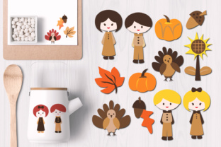 Thanksgiving Graphic By Revidevi