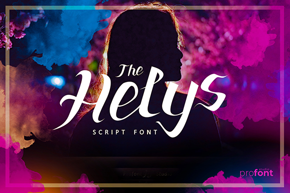 the helys font by profont studio creative fabrica. Black Bedroom Furniture Sets. Home Design Ideas