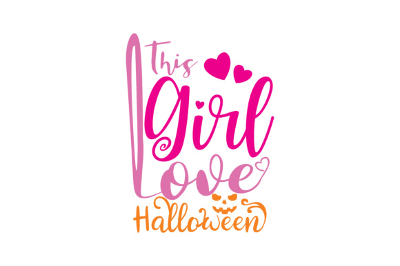 Print on Demand: This Girl Love Halloween Graphic Crafts By TheLucky