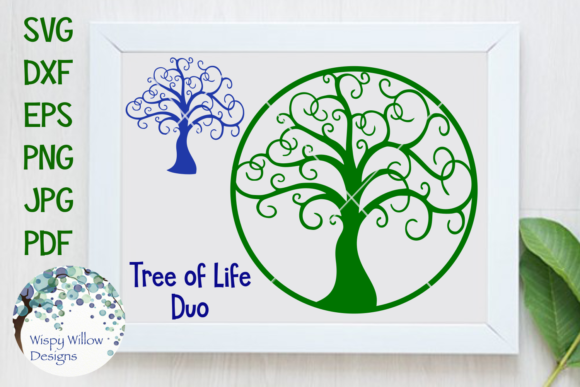 tree of life graphic by wispywillowdesigns creative fabrica