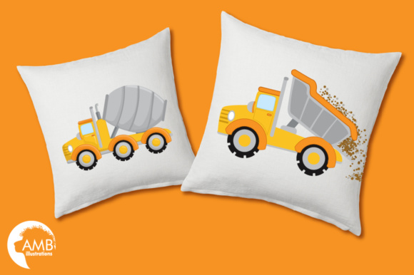 Trucks Clipart Graphic Illustrations By AMBillustrations - Image 3
