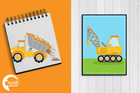 Trucks Clipart Graphic Illustrations By AMBillustrations - Image 5