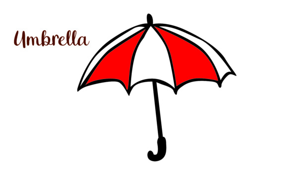 Print on Demand: Umbrella Graphic Illustrations By Arief Sapta Adjie