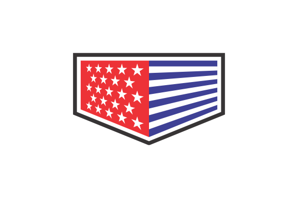 Print on Demand: VECTOR of FLAG BOX Graphic Logos By cikep25