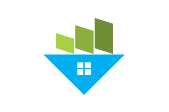 Print on Demand: VECTOR of FLIPPING HOUSES Graphic Logos By cikep25