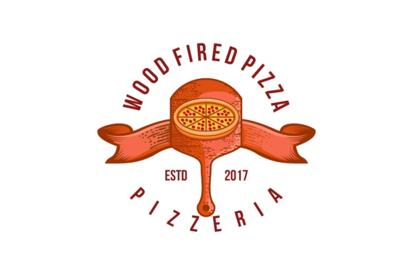 Download Free Vintage Pizza Logo Graphic By Yahyaanasatokillah Creative Fabrica for Cricut Explore, Silhouette and other cutting machines.