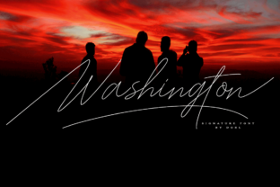 Washington Script & Handwritten Font By DoeL Creative
