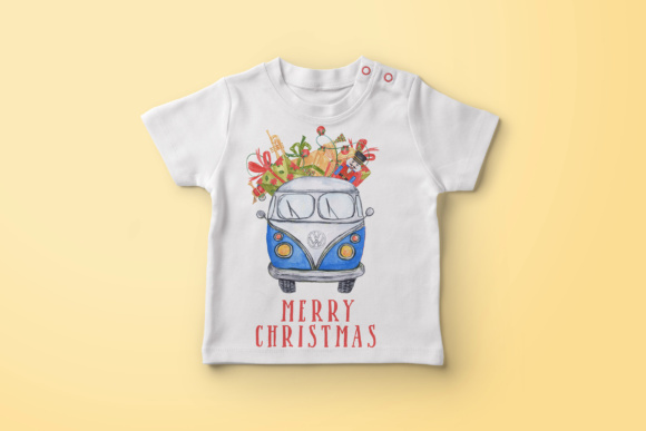 Download Free Watercolour Christmas Cars Clipart Graphic By Vivastarkids for Cricut Explore, Silhouette and other cutting machines.