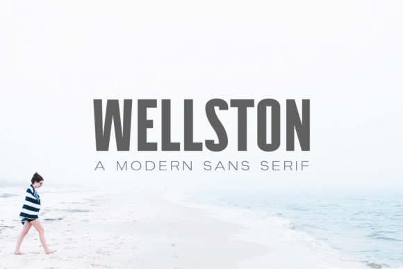 Print on Demand: Wellston Sans Serif Font By Creative Tacos