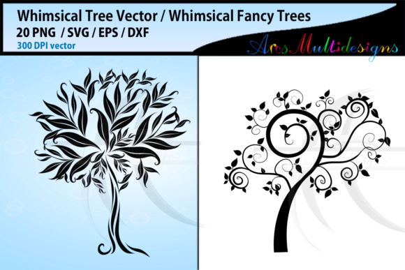 Whimsical Tree SVG Graphic By Arcs Multidesigns Image 3