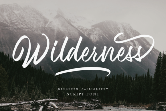 Print on Demand: Wilderness Script & Handwritten Font By Geranium.co