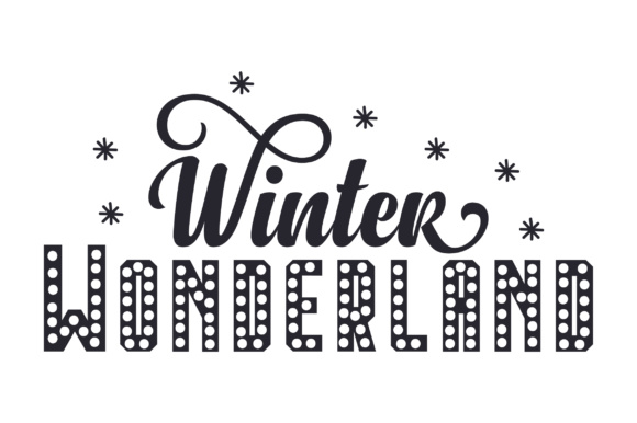 Download Free Winter Wonderland Archivos De Corte Svg Por Creative Fabrica for Cricut Explore, Silhouette and other cutting machines.