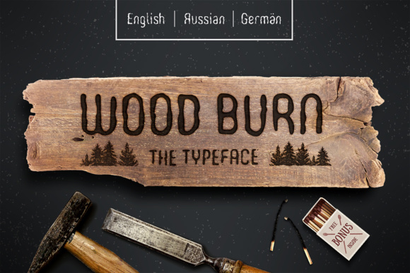 Print on Demand: Woodburn Sans Serif Font By Cosmic Store