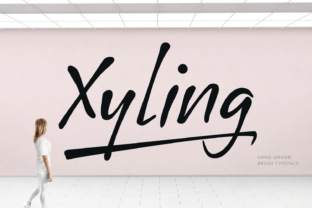 Xyling Font By Situjuh