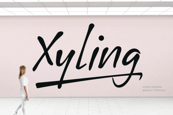 Print on Demand: Xyling Script & Handwritten Font By Situjuh