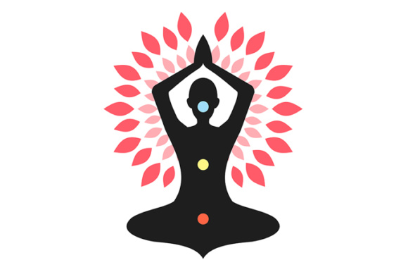 Download Free Yoga Meditation Grafik Von Holejohn Creative Fabrica for Cricut Explore, Silhouette and other cutting machines.