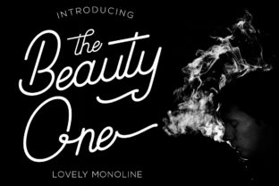 Beauty One Script & Handwritten Font By attypestudio