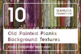 10 Old Painted Planks Background Textures Graphic Textures By Textures