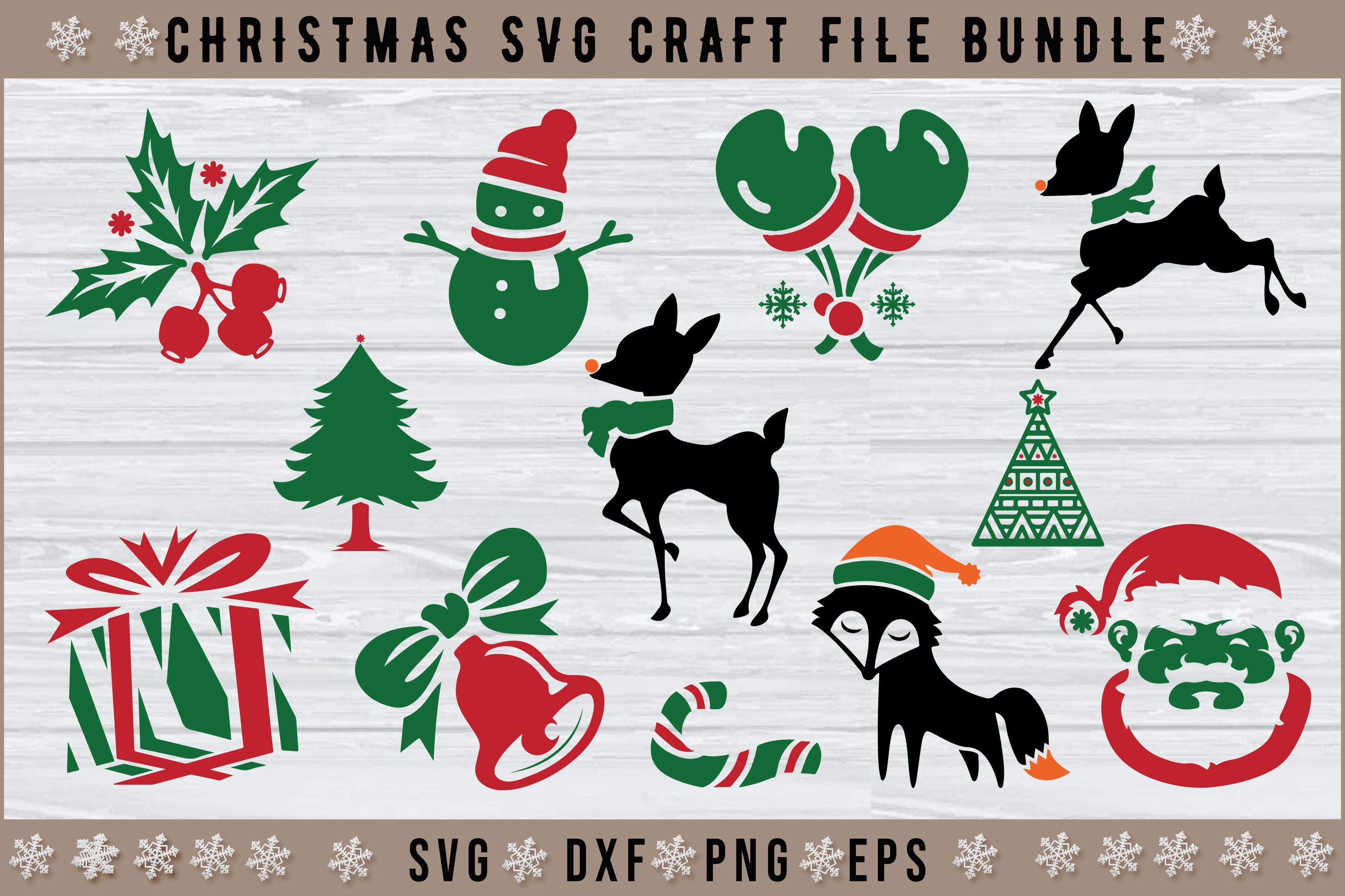 Download Free 12 Christmas Graphic By Artistcreativedesign Creative Fabrica for Cricut Explore, Silhouette and other cutting machines.
