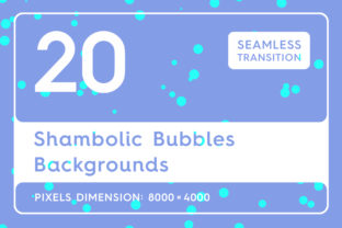 20 Shambolic Bubbles Backgrounds Graphic By Textures