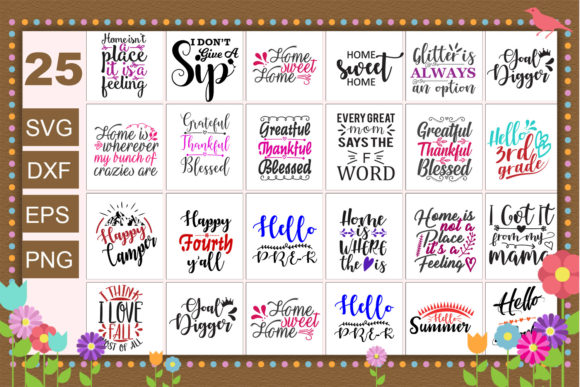 25 Best Quotes Saying Bundle Graphic Crafts By Graphicsqueen