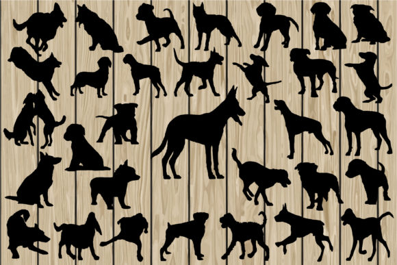 Download Free 32 Dog Svg Cutting Files Graphic By Cosmosfineart Creative Fabrica for Cricut Explore, Silhouette and other cutting machines.