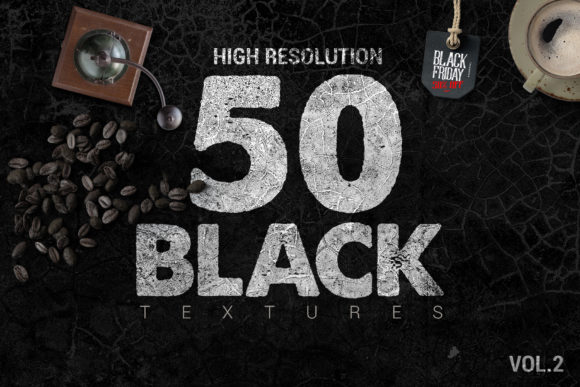 50 Black Textures Graphic Textures By SmartDesigns