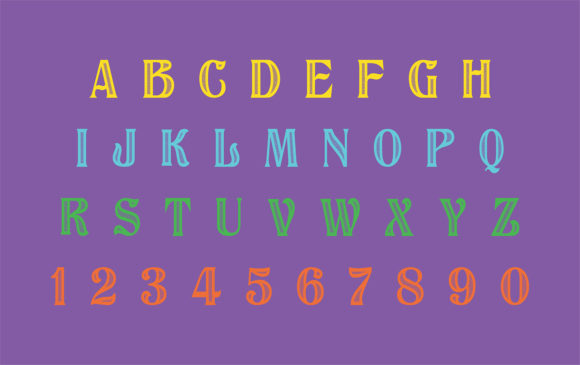 Print on Demand: Classy Display Font By bywahtung - Image 3