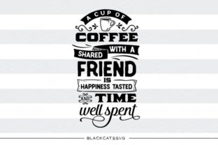 A Cup of Coffee with a Friend Graphic By sssilent_rage