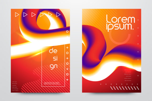 Abstract Fluid Creative Templates Graphic Backgrounds By inkwellapp
