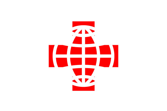 Download Free Abstract World Red Cross Day Logo Graphic By Hartgraphic for Cricut Explore, Silhouette and other cutting machines.