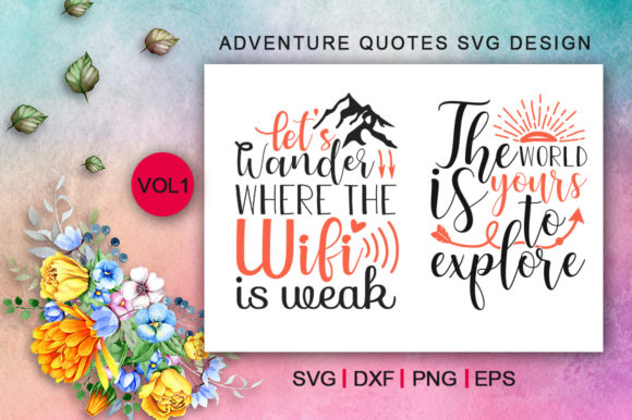 Adventure Quotes Bundle Graphic Crafts By Design Palace