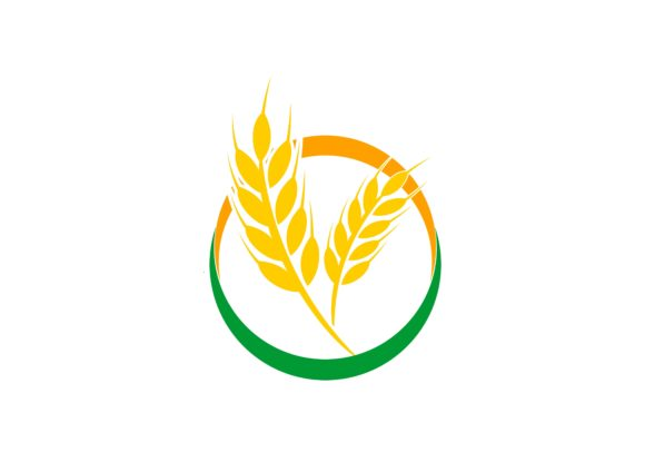 Agriculture Wheat Logo Graphic By DEEMKA STUDIO Image 1