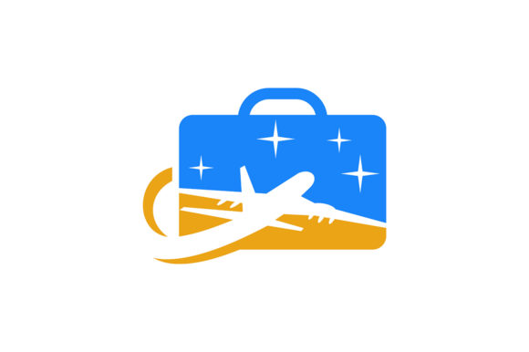 Airplane  Logo Graphic By Friendesigns Image 1