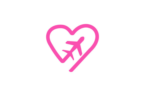Download Free Airplane Logo Grafik Von Friendesigns Creative Fabrica for Cricut Explore, Silhouette and other cutting machines.