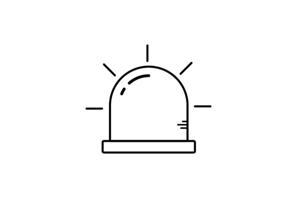 Print on Demand: Alert Graphic Icons By khld939