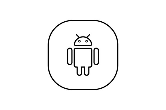 Print on Demand: Android Graphic Icons By khld939
