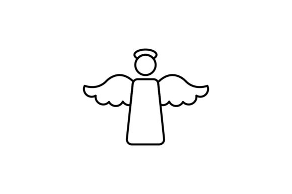 Print on Demand: Angel Graphic Icons By khld939