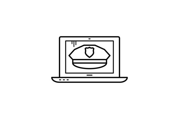 Print on Demand: Anti Cybercrime Graphic Icons By khld939