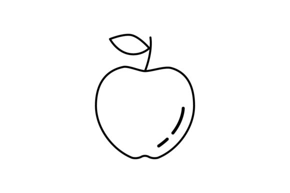 Print on Demand: Apple Graphic Icons By khld939
