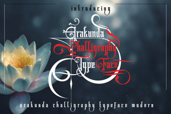Arakunda Display Font By jehansyah251