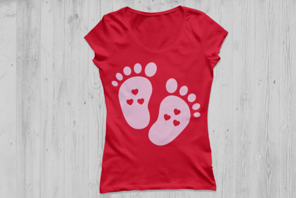 Baby Footprint File Graphic By Cosmosfineart Creative Fabrica