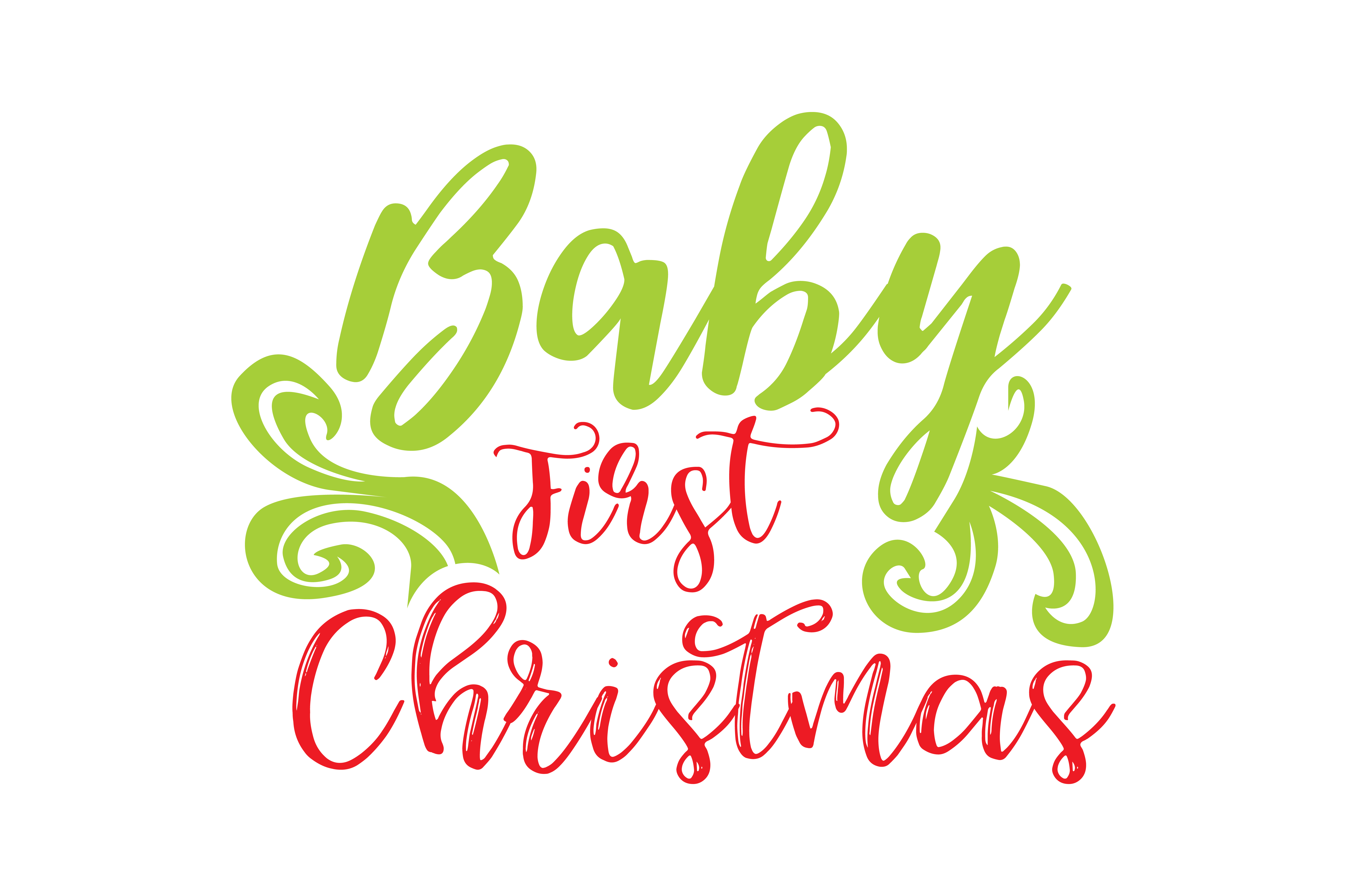 Baby First Christmas Graphic By Thelucky Creative Fabrica
