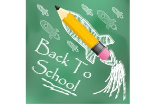 Back to School Wrinkled Paper Graphic By ojosujono96